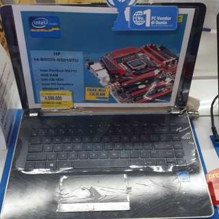 Laptop HP 14BS009TU (Gratis 1x Angsuran)