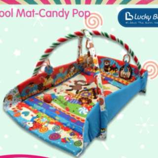 Brand new Lucky Baby Candy pop play mat