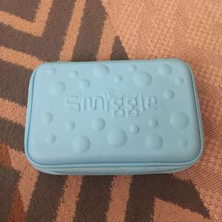 Smiggle Pencil Hard Case Turquoise