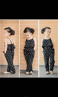 Jumpsuit for age :2-3 year old , 3-4 year old , 4-5 year old , 7-8 year old