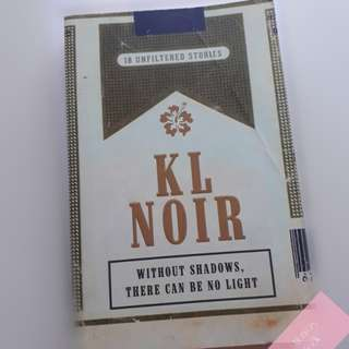 English Novel : KL Noir