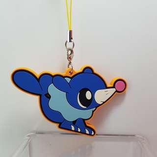 Pokemon Rubber Strap- Popplio