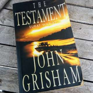 The Testament (Surat Wasiat) by John Grisham