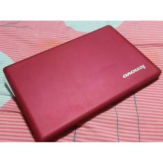Lenova S110 Ideapad in Red