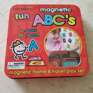 Fun magnetic ABC