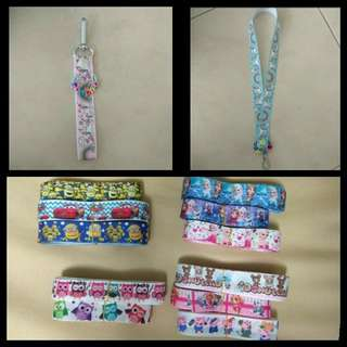 Unicorn/ Donutella Cute Lanyards, pacifier clips, bag tags