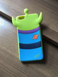 $10 iphone 6s plus case 三眼仔 little green man