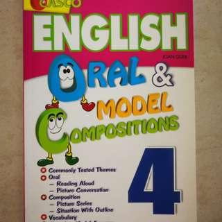 P4 English. Casco English oral & model compositions