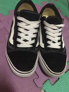 Vans黑白板鞋40