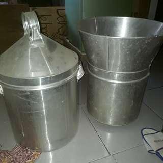 Dandang nasi dan soto beli 2 dapat harga murah