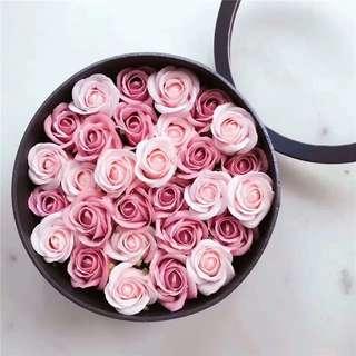 玫瑰花香皂禮盒
