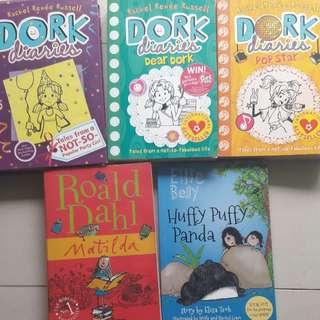 Dork diaries, Story box