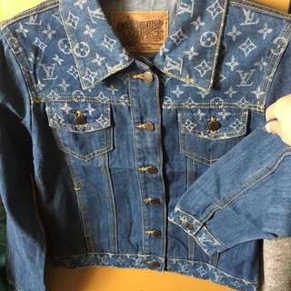 LV vintage Denim Jacket
