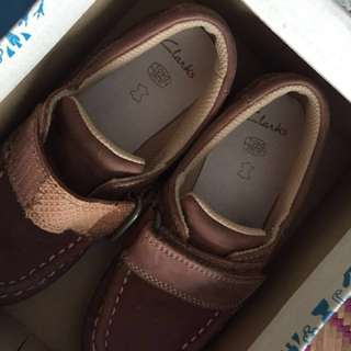 Clarks Shoe for Boy Kasut Budak