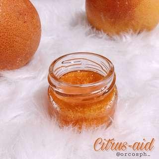 Citrus-aid Lipscrub