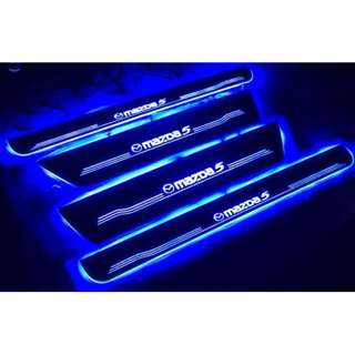 Mazda 3 / 5 / 6 LED Animated Door Scuff Plates