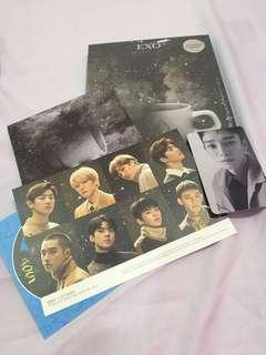 EXO Universe album with Chen PC & postcard