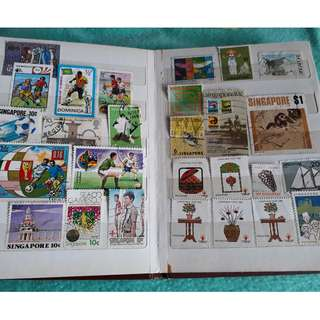 Singapore & Sports Stamps Collection