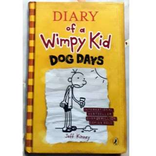 Hardcover: Dog Days (Diary of a Wimpy Kid, Book 4) – Jeff Kinney