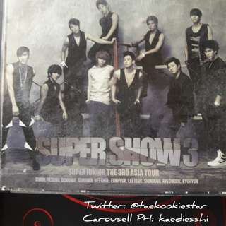 SUPER JUNIOR SS3 Audio CD