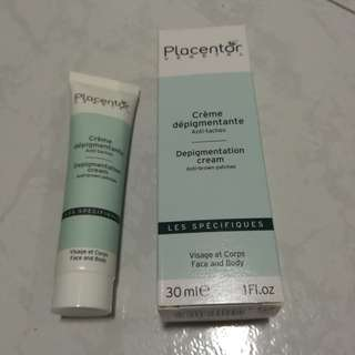 BNIB Natural whitening anti-pigmentation cream Placentor