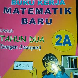 2 in 1 Latihan Mathematik Harian( set)