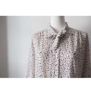 ::FlowerHolic:: Vintage 古著七分袖襯衫 101