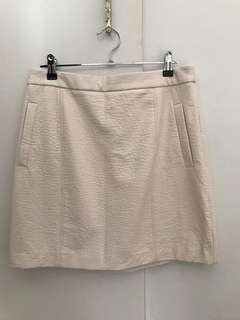 Shieke faux leather powder pink skirt - size 12