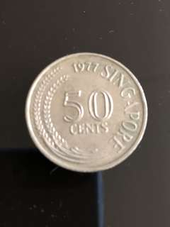 [Rare Vintage Coin] Old Currency Singapore 1978