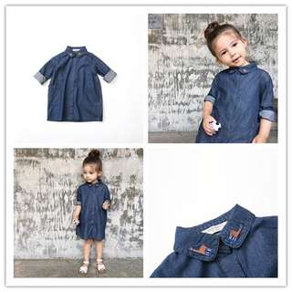 Little Kids Denim Top - 5R2