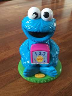 Sesame Street Cookie Monster 123