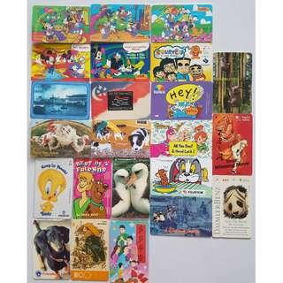 Vintage Calling cards (multi designs / Forever Friends / Disney)