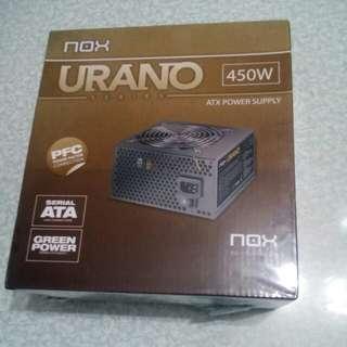 NOX URANO 450W ATX POWER SUPPLY(電腦火牛)