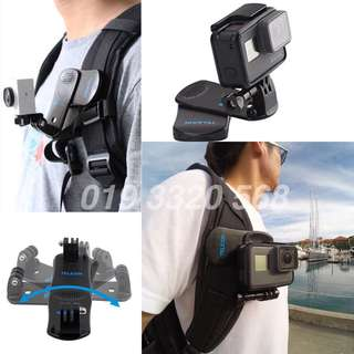 360 Clip Telesin bacpac GoPro hero 6 Black