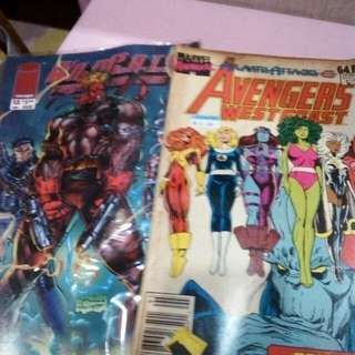 Marvel magazine comics