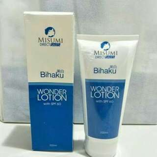 Wonder Body Lotion (Bihaku)