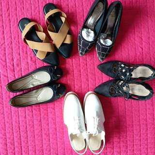 Shoes to let go!