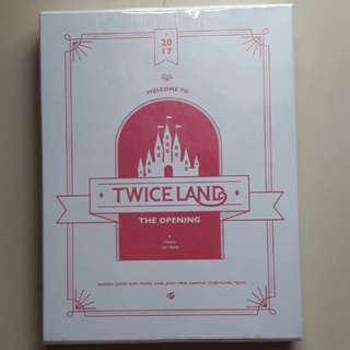 Twice 1st Tour - Twiceland The Opening 3DVD set