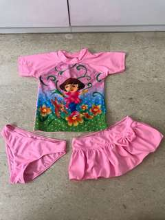 Dora Swim Wear Set