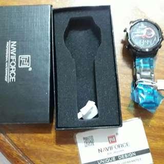 NAVIFORCE Luxury Brand Men Led Digital Sports Watches Male Waterproof Quartz Clock Mens Military Wrist Watch