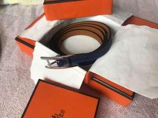 Hermes Bracelet hapi 3 blue sapphire