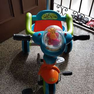 Kids Tricycle with pushed handle