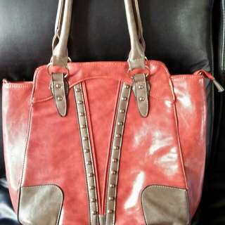 Peach Shoulder Bag