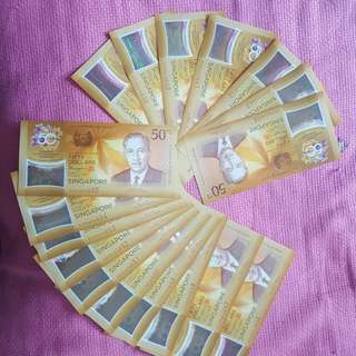 SG50 Special Notes for sale