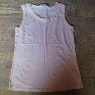 Pastel pink sleeveless