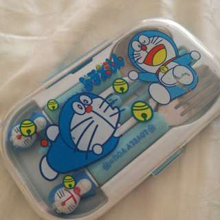 Doraemon Cutlery Set