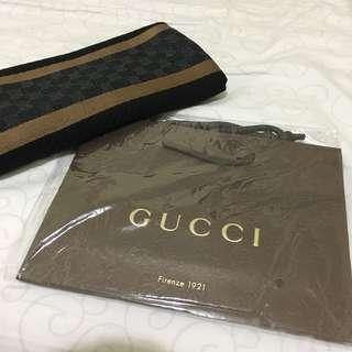 購自意大利專門店 2018 Gucci 披肩 頸巾 暗花 100% new & real made in Italy