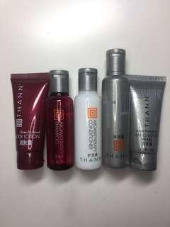 [100%全新]Thann 洗髮護髮沐浴旅行裝