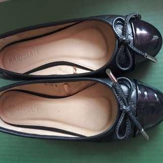Black doll shoes - Parisian