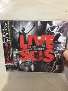 5SOS Live SOS album (from japan)